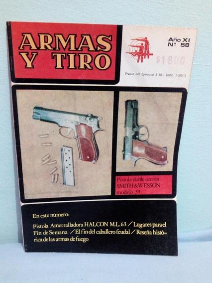 Antiga Revista Argentina Armas Y Tiro Sobre Armas De Fogo