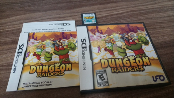 Dungeon Raiders Ds / 3ds Usado Completo