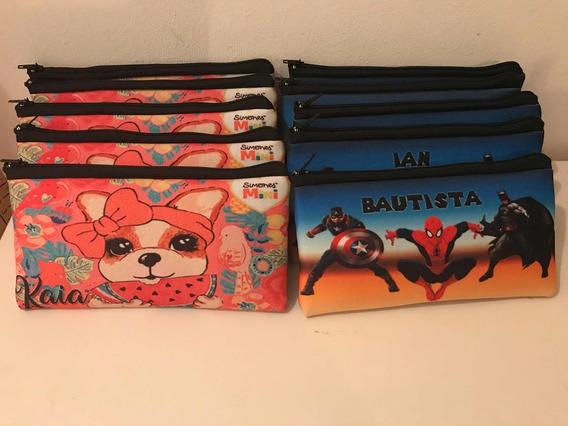 Cartucheras Personalizadas, Lapicero, Escolares, Full Color.