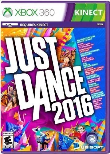 Jogo Just Dance 2016 Xbox 360 Fisica Frete Grátis Brasil