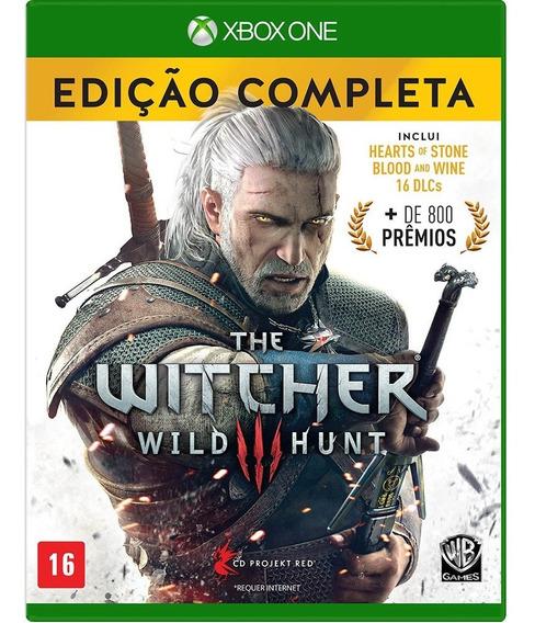 Jogo Xbox One The Witcher 3 Wild Hunt Edição Completa - Novo