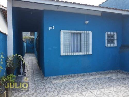 Imagem 1 de 14 de Casa Com 2 Dormitórios À Venda, 65 M² Por R$ 180.000 - Jussara - Mongaguá/sp - Ca3705
