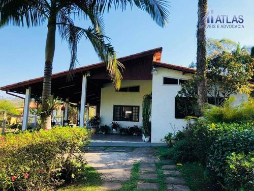 Imagem 1 de 27 de Chácara Com 5 Dormitórios À Venda, 5800 M² Por R$ 640.000,00 - Monte Negro - Santa Isabel/sp - Ch0007