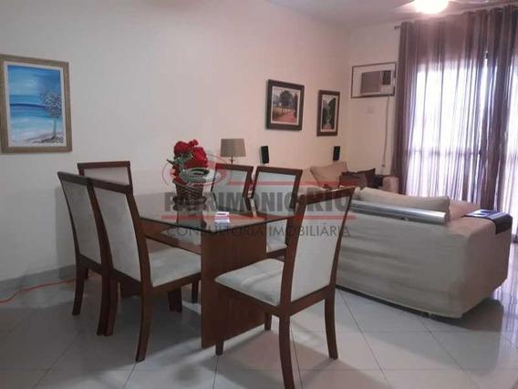 Apartamento 3quartos Mais Dependência Aceitando Carta - Paap30621
