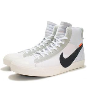 Tênis-bota Nike Blazer Mid Off-white Com Lacre Importado