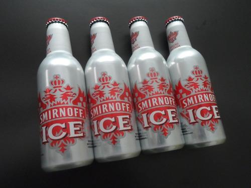 Garrafa Alumínio Smirnoff Ice  Item Para Colecionável  Rara