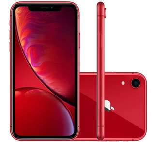 iPhone XR Apple 64gb Câmera 12mp Tela Liquid Retina Hd 6.1