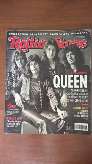 Revista Rolling Stone - Capa Queen Nº95 - Agosto 2014