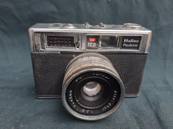 Antiga Câmera Fotográfica Halina Paulette Eeii