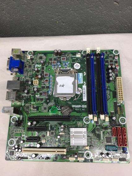 Kit Placa Mae Lga 1156 + Processador I5 3.1ghz + 4gb Ram