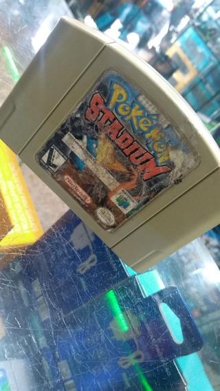 Jogo Pokémon Stadium Original Nintendo 64