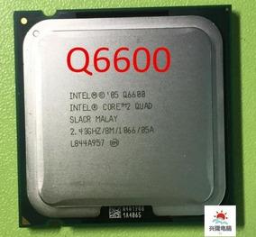 Processador Core 2 Quad Q6600 + Pasta Garantia De 3 Meses