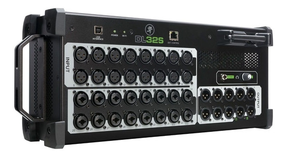 Mesa De Som Digital Mackie Dl32s 32 Canais Interface 8 Aux