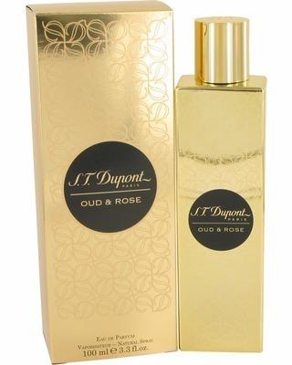 Perfume S.t Dupont Oud & Rose Unissex 100ml Edp - Novo