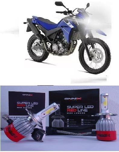 Super Led 6000k Farol Moto Xt 660 05 2006 Á 2016 Top