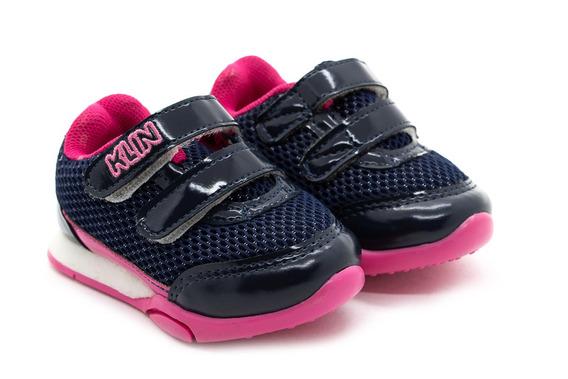 Tênis Klin Enjoy 756030800 Marinho/pink