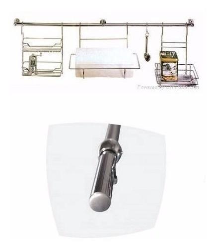 Barral Cocina Para Organizador Utensillos 5/8 X 45cm Bronce