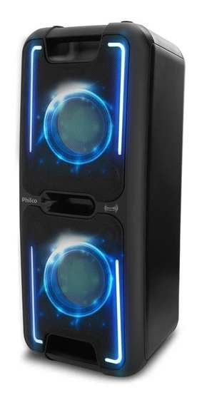 Caixa de som Philco PCX 5501N Effects portátil sem fio Preto 110V/220V