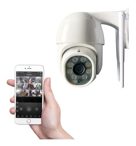Camara Ip Seguridad Domo Exterior Hd 360 Wifi Motorizada