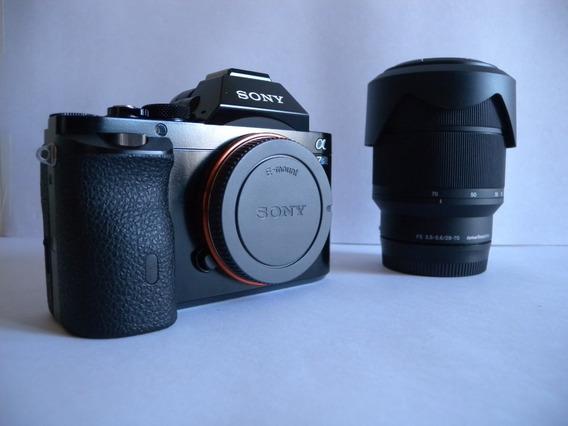 Câmera Sony Alpha A7s 4k Video Super Iso + 28-70mm 502clicks