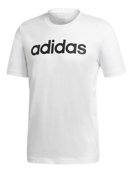 Playera adidas Blanco Para Hombre Original