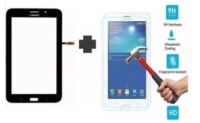 Tela Touch + Película Vidro Galaxy Tablet T116 T116bu Preto