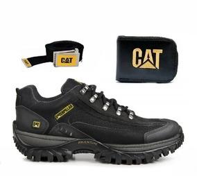 a5072403b Coturno Bota Tenis Caterpillar Adventure Original + Kit Cat