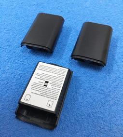 3x Tampa Da Bateria - Porta Pilhas - Controle Xbox 360 Preto