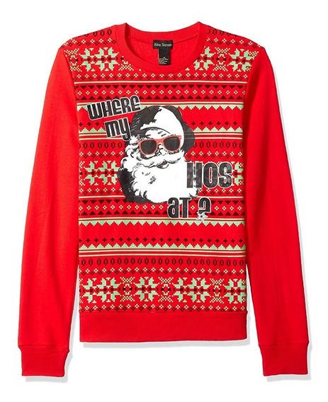 Christmas Ugly Sweater Jersey Navidad Suéter Talla Grande