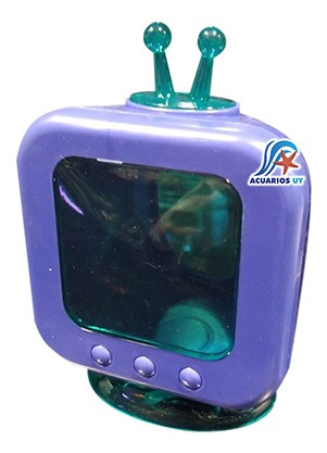 Casa Con Forma De Televisión Para Hámster. Meadow Pet