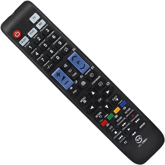 Controle Remoto Tv Led Lcd Samsung Sharp Philips Universal