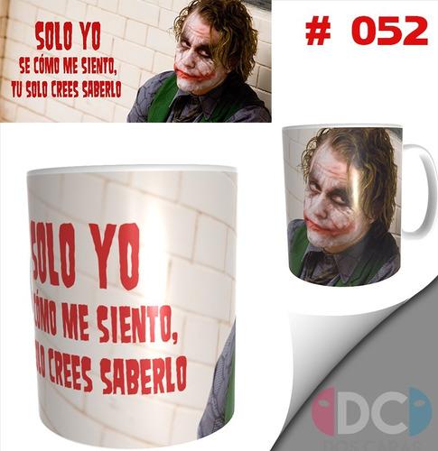 Taza Comics Coleccionables  Joker Guason Heath Ledger #052