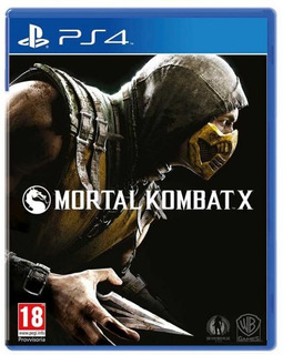 Ps4 Mortal Kombat X Usado Perfecto Estado Tienda Fisica