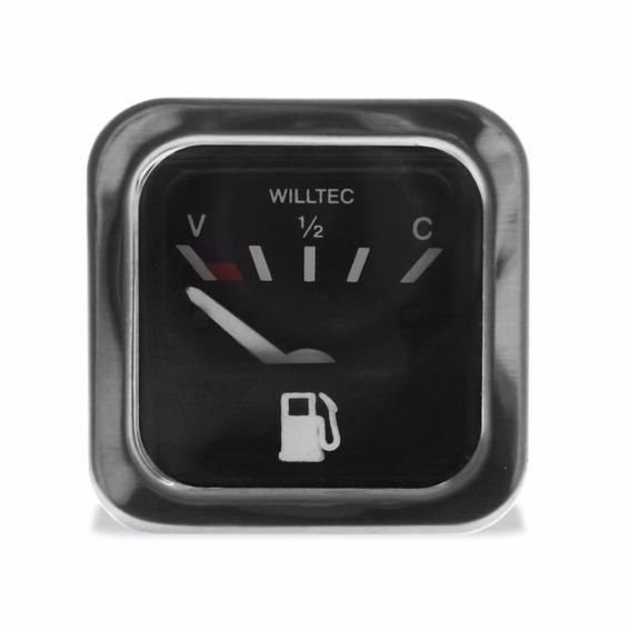Relógio Manômetro Indicador Combustivel 52mm Willtec Fusca