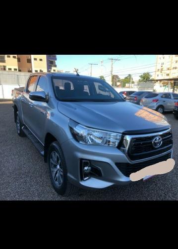 Imagem 1 de 6 de Toyota Hilux 2019 2.8 Tdi Srv Cab. Dupla 4x4 Aut. 4p