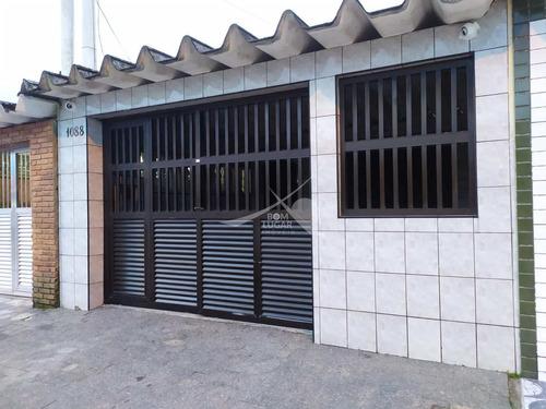 Imagem 1 de 18 de Casa Em Praia Grande, Ocian - V5186