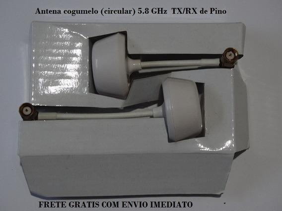2 X Antena Tx/rx 5.8 Ghz Plug Pino Em L Para Rc. 100% Nova.