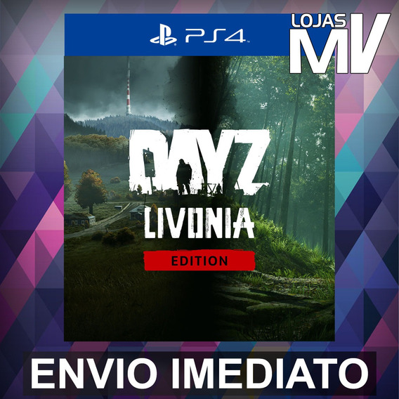 Dayz Livonia Edition Ps4 Código 12 Dígitos