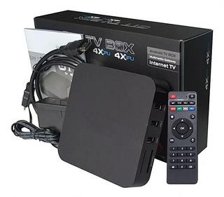 Smart Tv Box Android Mini Pc Control Remoto Hdmi, Rca Av In
