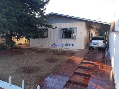 Casa À Venda, 112 M² Por R$ 380.000,00 - Vila Casoni - Londrina/pr - Ca1367