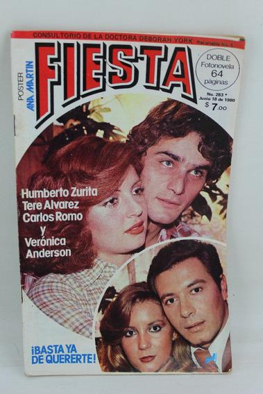 L4210 Fotonovela Fiesta Numero 283 Basta Ya De Quererte 1980