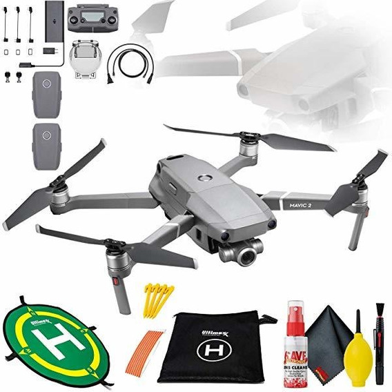 Camara Mavic Zoom 2 Bundle Landing Pad Drones 50cm Flight ®