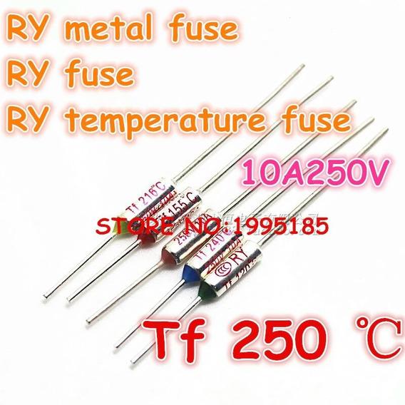 Fusível Térmico 250v 10a Frete Grátis