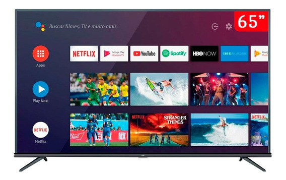 "Smart TV TCL 4K 65"" 65P8M"