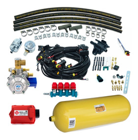 Kit Gnv 5g Tomasetto At12 48red Com Cilindro 10m3 40 Litros