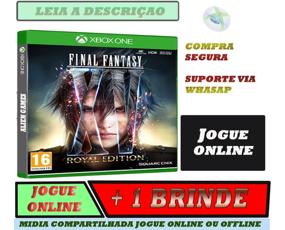 Final Fantasy Xv Royal Edition Offline E Online + Brinde