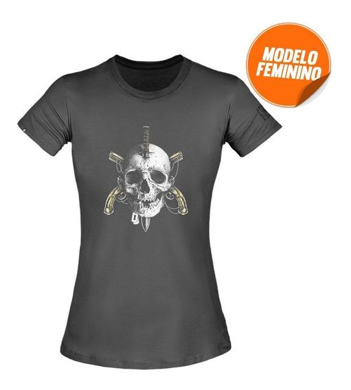 Camiseta Feminina Concept Invictus Zero Um