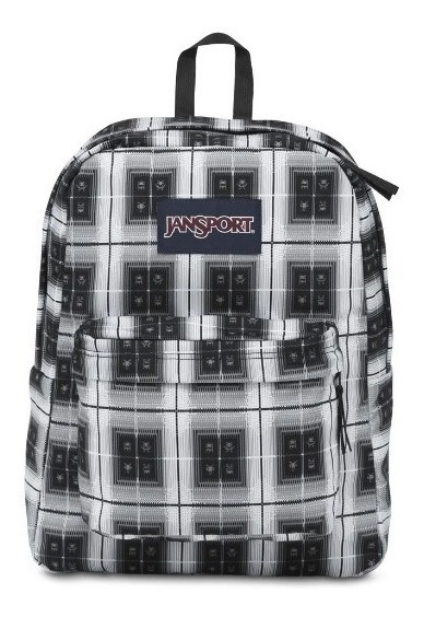 Mochila Jansport Superbreak Black Arcade Plaid Js00t5010km
