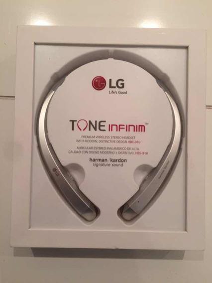 Fone LG Tone Infinim Hbs-910 Prata