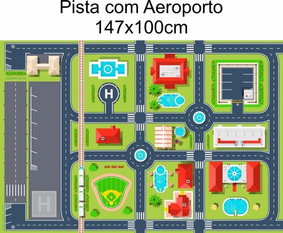 Pista Hotwheels Lona - Tamanho 147x100cm